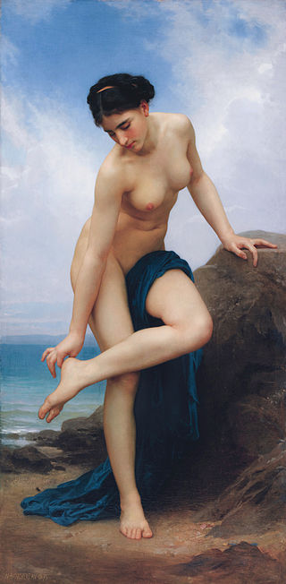 "William-Adolphe Bouguereau ""After the Bath"" (1875)"