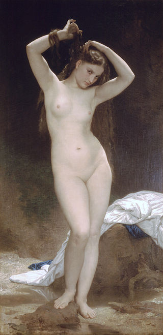 "William-Adolphe Bouguereau ""Bather"" (1870)"