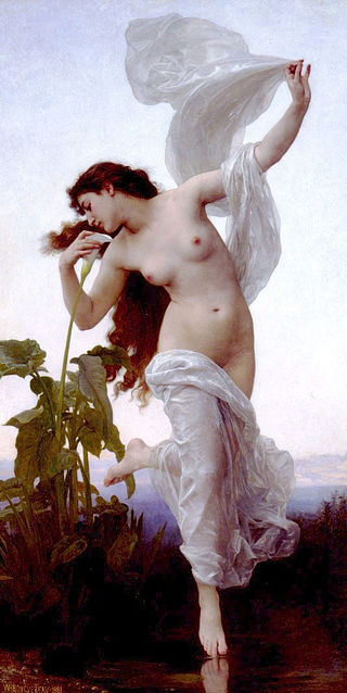 "William-Adolphe Bouguereau ""Dawn"" (1881)"