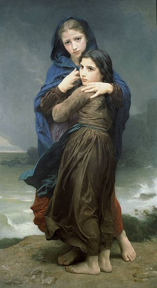 "William-Adolphe Bouguereau ""L'Orage"" (1874)"
