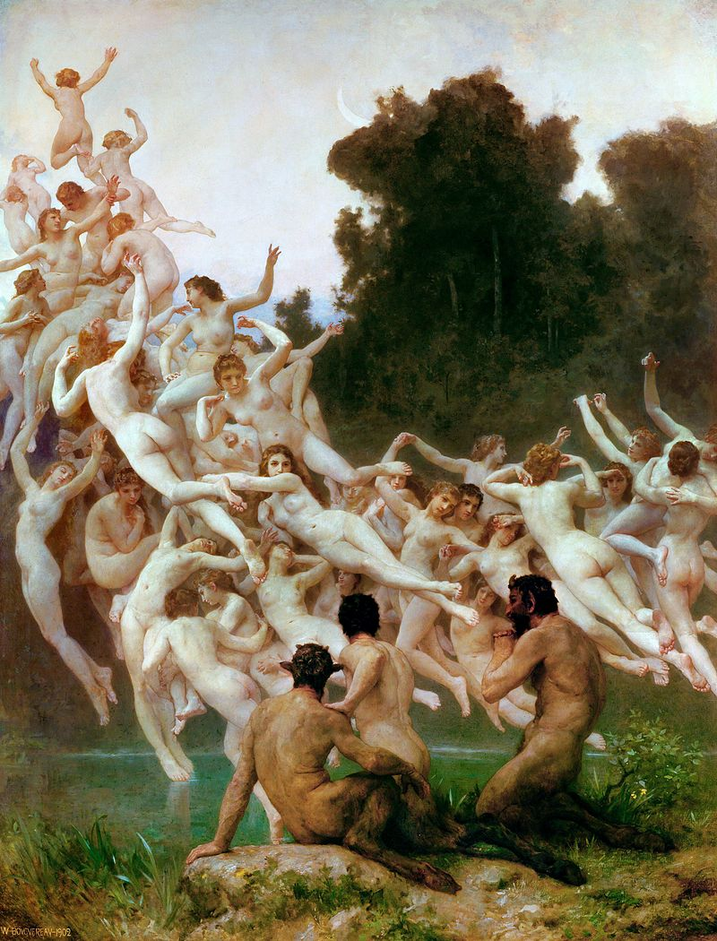 "William-Adolphe Bouguereau ""Les Oreades"" (1902)"