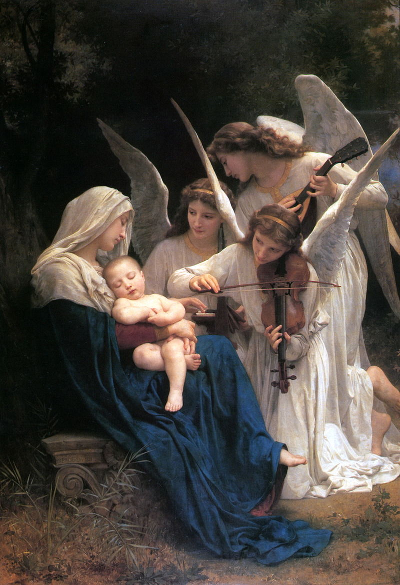 "William-Adolphe Bouguereau ""Song of the Angels"" (1881)"