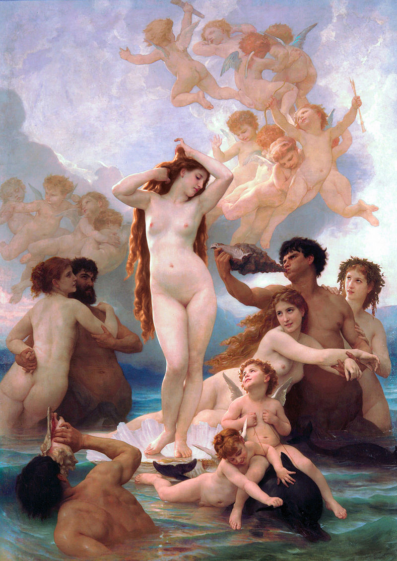 "William-Adolphe Bouguereau ""The Birth of Venus"" (1879)"