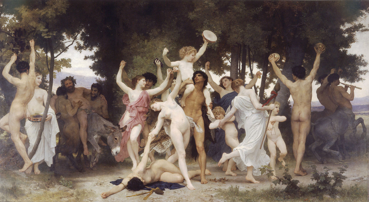 "William-Adolphe Bouguereau ""The Youth of Bacchus"" (1884)"