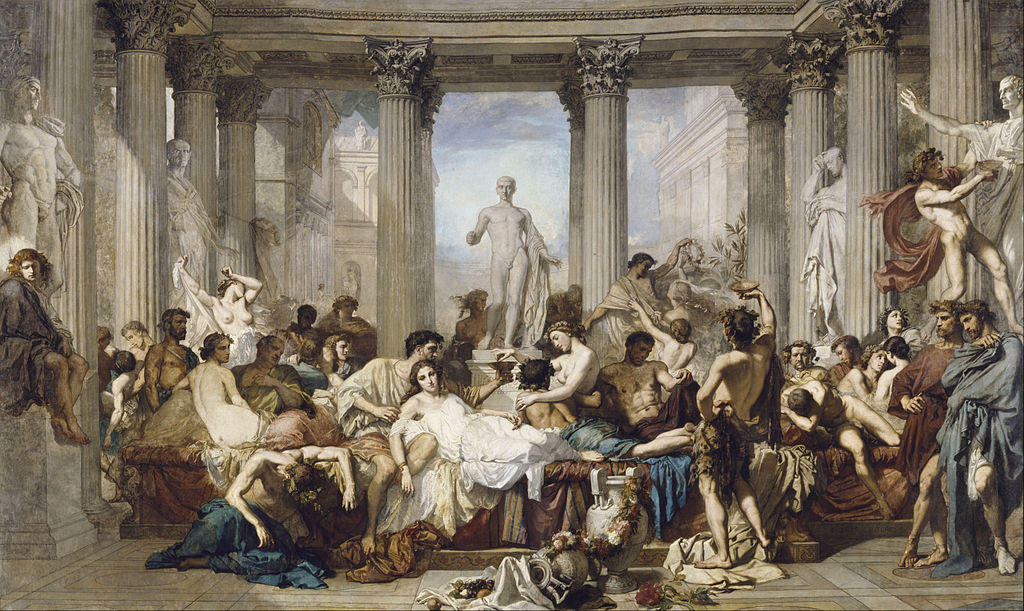 "Thomas Couture ""Romans During the Decadence"""