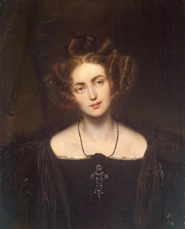 """Paul Delaroche """"Henriette Sontag in her Donna Anna Costume"""" (1831)"""