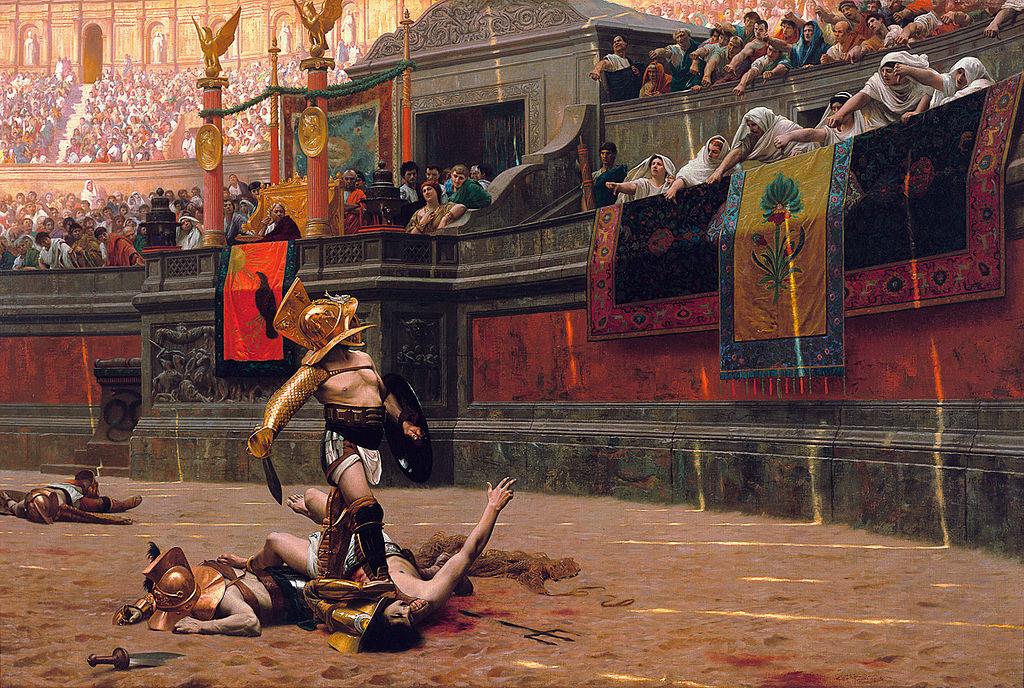"""Jean-Léon Gérôme """"Pollice Verso"""""""