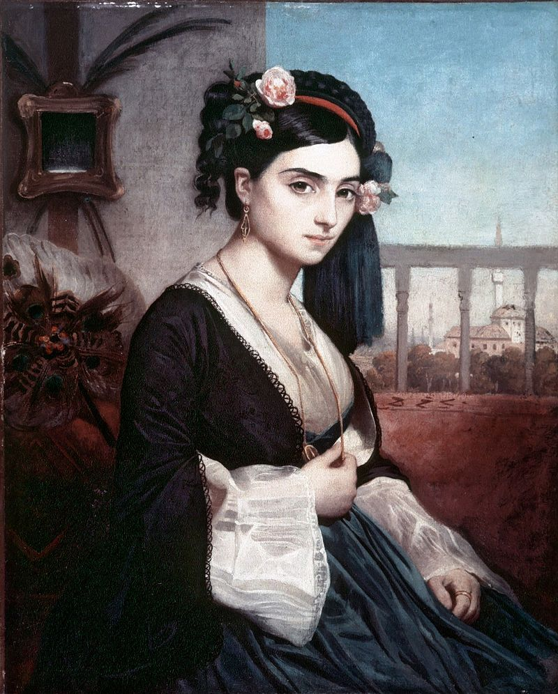 "Charles Gleyre ""Oriental Lady"" (1865)"