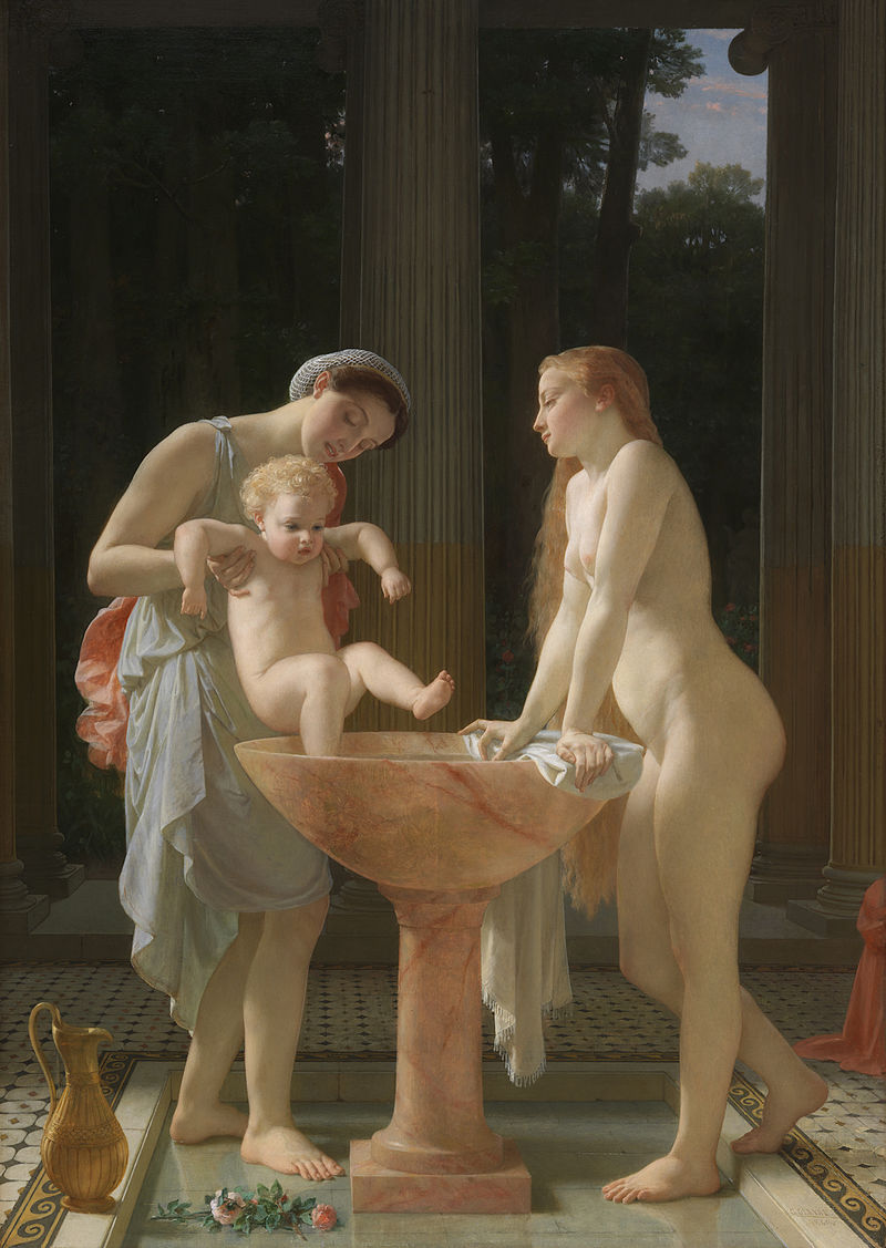 "Charles Gleyre ""The Bath"""