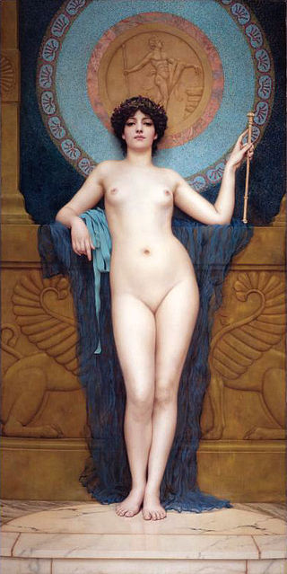 "John William Godward ""Campaspe"""