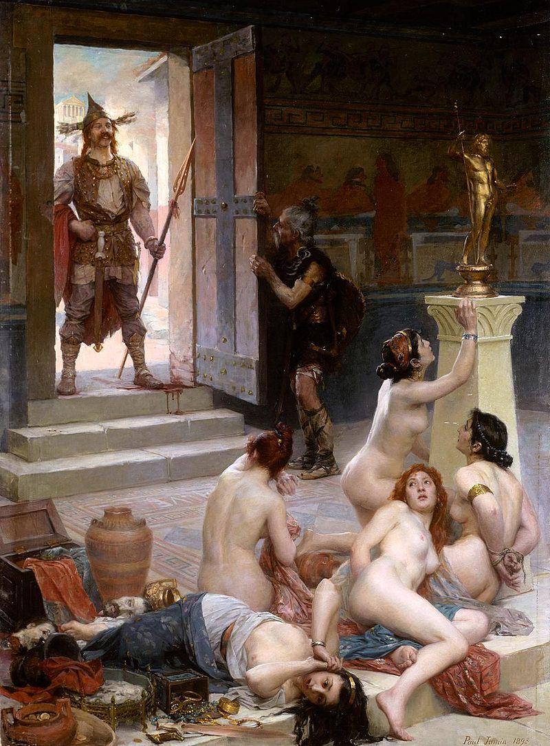 "Paul Jamin ""Le Brenn et sa part de butin"" (1893)"