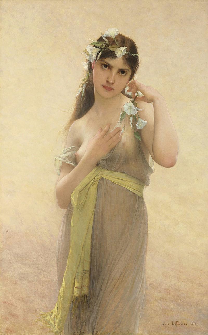 """Jules Joseph Lefebvre """"Morning Glory"""" (1879)"""