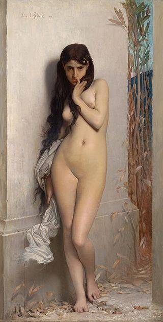 "Jules Joseph Lefebvre ""La Cigarra"" (1872)"