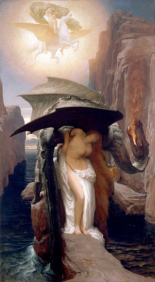 "Frederic Leighton ""Perseus and Andromeda"""