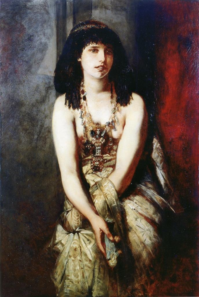 """Hans Makart """"An Egyptian Princess"""" (1875)"""
