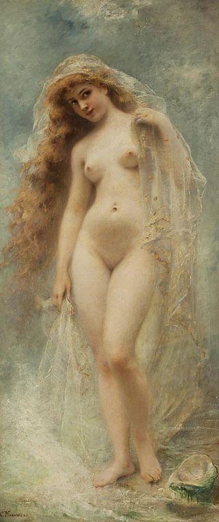 "Konstantin Makovsky ""Geburt der Aphrodite"""