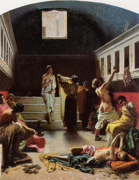 """Domenico Morelli """"Pompeian Bath"""" (1861)"""