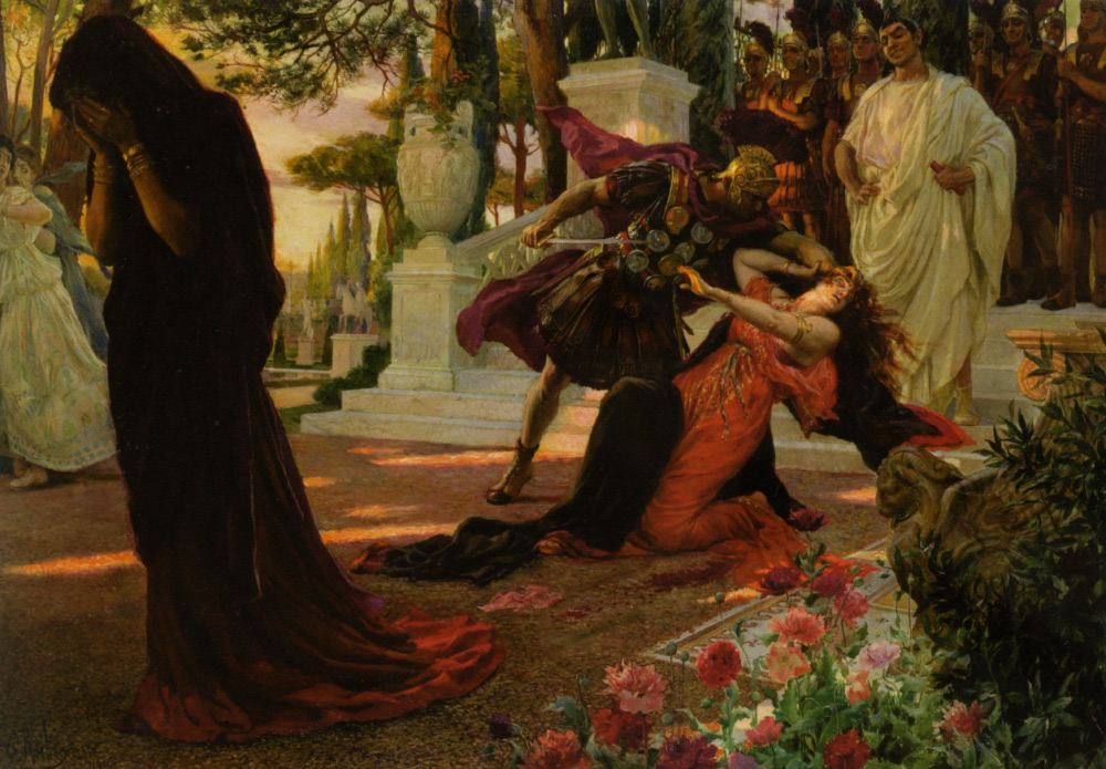 "Georges Rochegrosse ""The Death of Messalina"" (1916)"