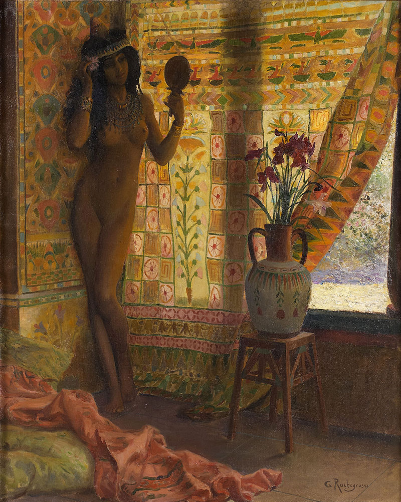 "Georges Rochegrosse ""The Mirror"""