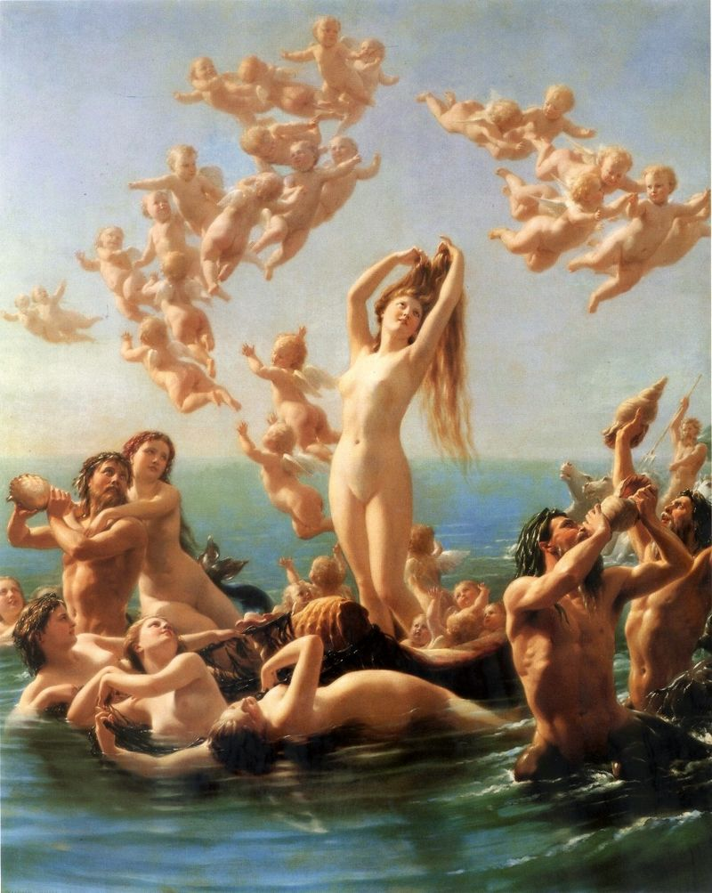 "Fritz Zuber-Bühler ""Birth of Venus"""