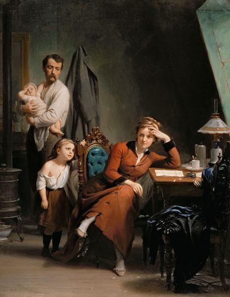 "Fritz Zuber-Bühler ""The Poetess"""