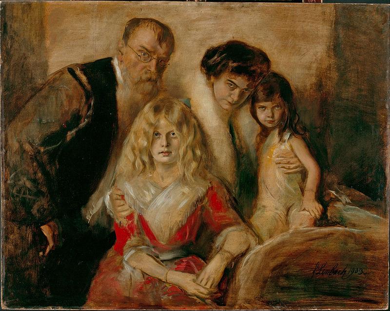 "Franz von Lenbach ""Family von Lenbach"""