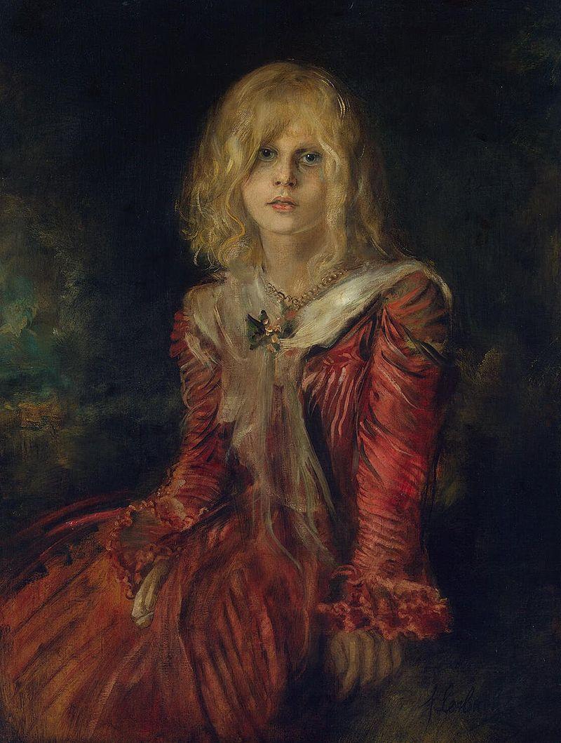 """Franz von Lenbach """"Porträt Marion Lenbach"""" (1901)"""