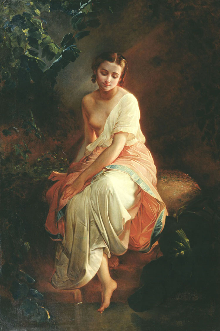 "Carl Timoleon von Neff ""The Bather"""